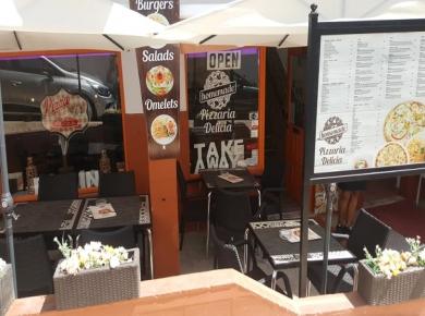 Pizzeria Delicia, Praia da Luz
